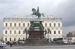 Nicholas I on Isaac's Square, Saint Petersburg
