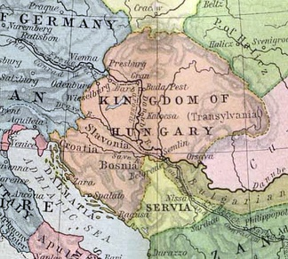 Transylvania, as a part of the medieval Kingdom of Hungary during the early 12th century.