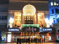 The Empire at Leicester Square in London also includes a casino