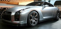 Nissan GT-R Prototype at the 2005 Tokyo Motor Show