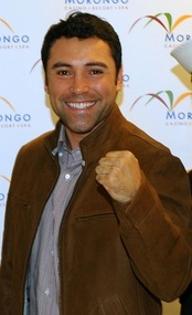 Oscar De La Hoya was the first boxer to win major titles in six divisions.