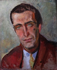 Portrait of Pierre Emmanuel by Willy Eisenschitz during World War 2.