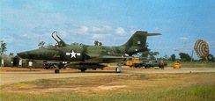 A 33rd Tactical Group RF-101A (s/n 54-1512) after landing at Udorn, Thailand (later transferred to Tan Son Nhut) c1965