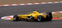Ralph Firman finished 15th in his Jordan EJ13.