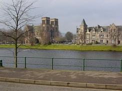 St. Andrew's Cathedral on the banks of the River Ness