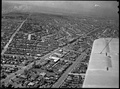 Aerial photograph of Mayfield in 1950