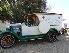 San Luis Ambulance Service, a restored 1925 Dodge