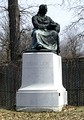 Friedrich Schiller, the German poet, philosopher, historian, and dramatist, statue on Belle Isle