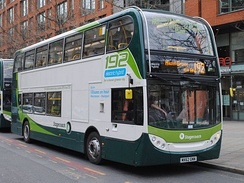 Alexander Dennis Enviro 400 hybrid on route 192 in March 2013