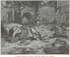 Thomas at his bivouac at Chickamauga