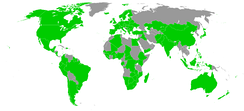 Ratifications of 1976 Tripartite Consultation Convention