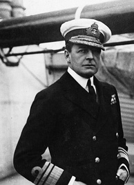 David Beatty, commander of the British battlecruiser fleet