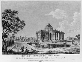 Château de Montmusard (1765), by Charles de Wailly.