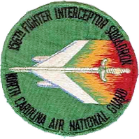 156th Fighter-Interceptor Squadron - Emblem