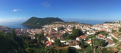 Angra do Heroísmo, on Terceira Island, is UNESCO World Heritage and the judicial capital of the Azores.