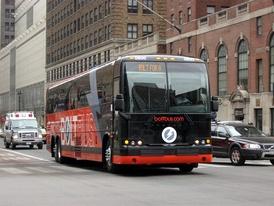 Междугородний автобус в Нью-Йорке
