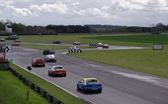 The MR2 Championship, a series in the UK that makes use of both the SW20 and ZZW30 models. Both cars are kept relatively stock except for the addition of safety equipment.