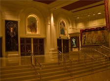Entrance to theatre from within Caesars Palace in 2008