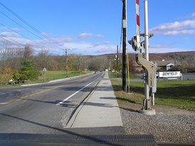 Route 311 looking east in Patterson
