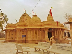 Dadhimati Mata Temple in Nagaur district, Rajasthan.