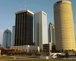 Tampa, part of second largest metropolitan area
