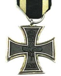 the original Iron Cross military medal from 1813