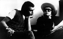 Elton John with Bernie Taupin (left) in 1971. They have collaborated on more than 30 albums to date