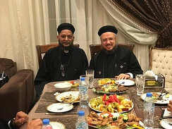 Fr Bishoy Official Visit to Abouna Daoud