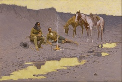 A New Year on the Cimarron, 1903, Museum of Fine Arts, Houston