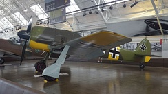 The Flying Heritage & Combat Armor Museum's airworthy Fw 190A-5, WkNr. 151 227, between flights with its original, restored BMW 801 radial.