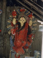 Idol of Manasa, the deity of snakes
