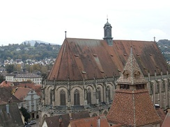 The Münster as seen from the south window on the tower of the Johanniskirche