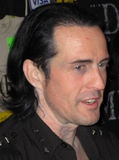 Nivek Ogre of Skinny Puppy, an electro-industrial group.