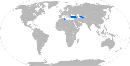 Map of Kirpi operators in blue