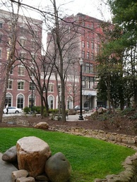 Krutch Park in Downtown Knoxville