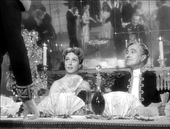 Director Max Ophüls was a major influence on Kubrick; pictured is his film The Earrings of Madame de... (1953).