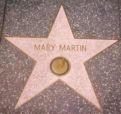 Star for Recording on the Hollywood Walk of Fame at 1560 Vine Street, Hollywood: She also has one for Radio at 6609 Hollywood Blvd.