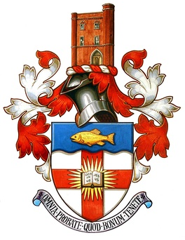 Regent's Park College, Oxford's coat of arms