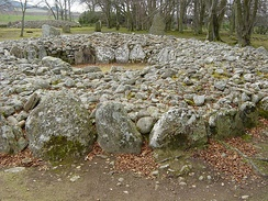 Ring-type cairn at Balnauran of Clava