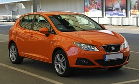 Seat Ibiza (6J) – Frontansicht, 25. April 2011, Ratingen.jpg