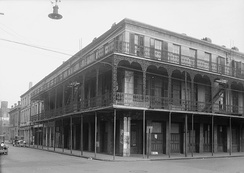 HABS photo of the Southern Hotel on Water Street, completed in 1837. (destroyed during urban renewal)