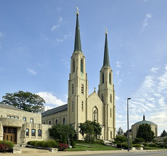 Cathedral of the Immaculate Conception, co-cathedral of the Roman Catholic Diocese of Fort Wayne-South Bend.