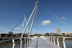 Newport City footbridge