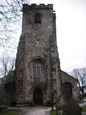 St Mary and All Saints parish church tower
