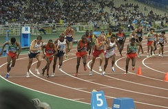 10,000-meter final during the 2004 Olympic Games