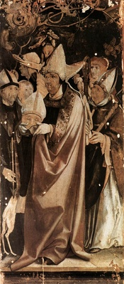 The second panel of the Grünewald altarpiece