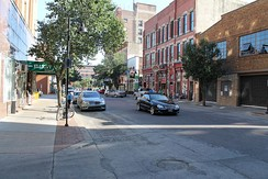 The 4th Street Neighborhood is within the Court Avenue Entertainment District of Downtown Des Moines.