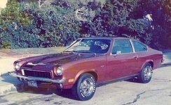 1973 Vega GT in metallic bronze