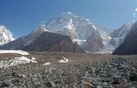 Broad Peak, the 12th highest peak in the world
