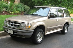 1995–2001 Ford Explorer built on a light-truck chassis
